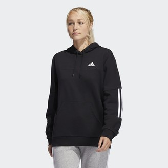 adidas Post-Game 3-Stripes Pullover Hoodie
