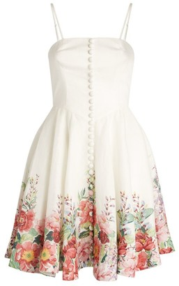 Zimmermann Bellitude Bustier Dress