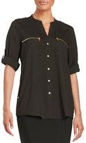 Calvin Klein Zipper Utility Shirt