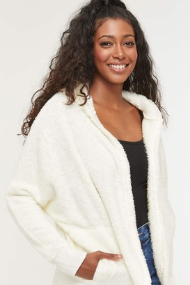Ardene Faux Fur Cardigan with Hood