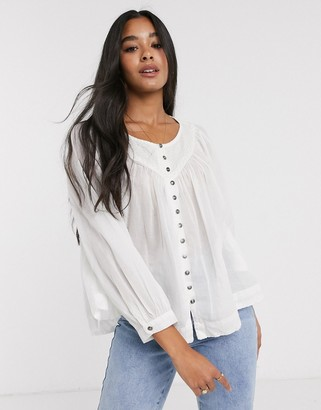 We The Free by Free People Cool Meadow smock top