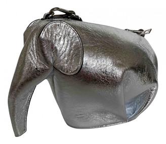 Loewe Animals Silver Leather Handbags