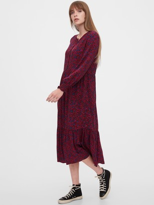 Gap Henley Midi Dress