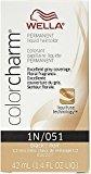 Wella Color Charm Liquid Haircolor 1n/51 Black, 1.4 oz (Pack of 4)