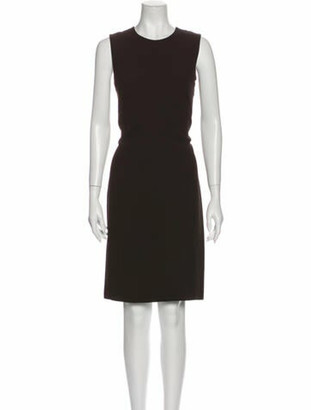Gucci 2014 Knee-Length Dress w/ Tags Brown