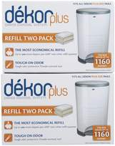 Regal Lager Diaper Dekor Plus Refill - 4 Pk