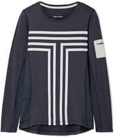 Tory Sport Performance Printed Stretch-jersey Top