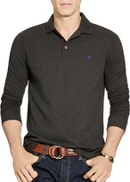 Polo Ralph Lauren Stretch Mesh Long Sleeves Classic Fit Polo Shirt