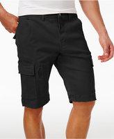 Lrg Men's Big & Tall Surplus Stretch Ripped Cargo Shorts