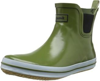 Kamik SHARONLO Womens Ankle Boots Ankle Boots Green (Oli-Olive) 7 UK