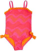 Penelope Mack 1-Pc. Crochet Swimsuit, Baby Girls (0-24 months)