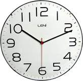 Leni Classic Wall Clock, White, 30cm