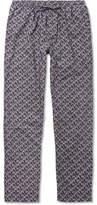 Zimmerli Metropolitan Tropicals Printed Cotton-Poplin Pyjama Trousers
