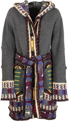 Etro Jacquard Knitted Coat