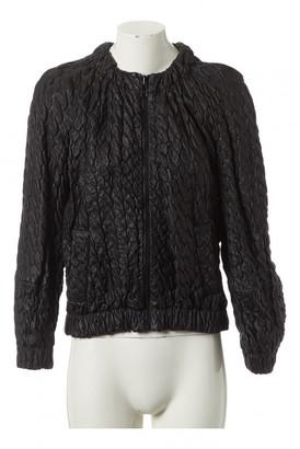 Jay Ahr Black Leather Leather jackets