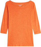 Majestic Linen Top with Silk