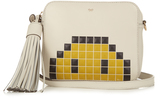 Anya Hindmarch Pixel Smiley leather cross-body bag