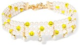 Venessa Arizaga Women's Smile Away Imitation Pearl Choker