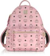 MCM Soft Pink Small Stark Backpack
