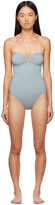 Thumbnail for your product : Eres Grey Cassiopee One-Piece Swimsuit
