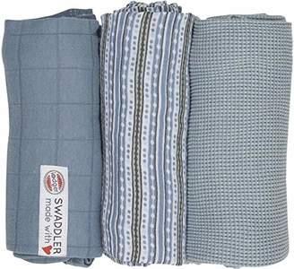 Baby Receiving Blankets, Burp Cloth, 3-Pack
