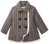 Kate Spade Tweed Coat (Baby Girls)