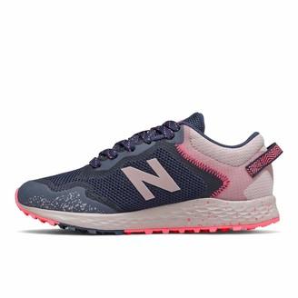 New Balance unisex child Fresh Foam Arishi Trail V1 Lace-up Running Shoe