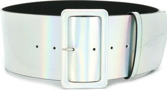 MSGM Iridescent belt