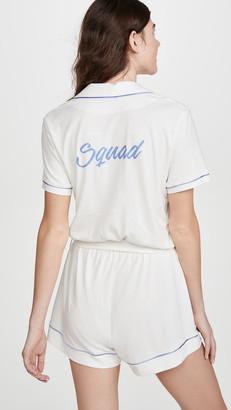 Cosabella Bella Bridal Squad Short Sleeve PJ Romper