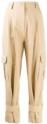 Erika Cavallini Tapered Cargo Trousers