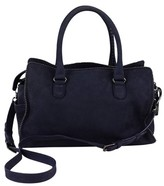Diane von Furstenberg Blue Suede Studded Grace Day Bag