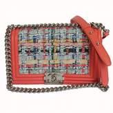 Chanel Boy tweed handbag