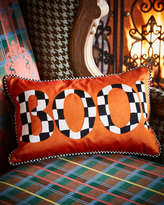 Mackenzie Childs MacKenzie-Childs boo! pillow