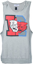 Facetasm printed sleeveless sweatshirt - men - Cotton - 4