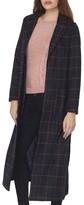 Dorothy Perkins Women's Check Maxi Coat