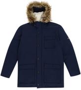 Original Penguin Insulated Dry Wax Parka Jacket, Dark Sapphire