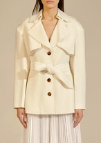KHAITE The Billy Trench in Ivory