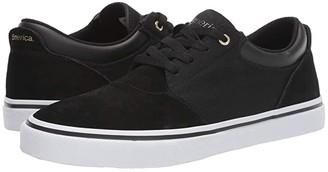 Emerica Alcove (Black/White/Gold) Men's Skate Shoes