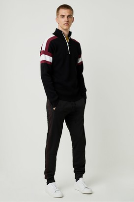 French Connection Lakra Knit Half Zip Jumper