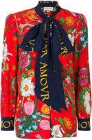 Gucci L'Aveugle Par Amour floral blouse - women - Silk - 40