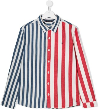 Tommy Hilfiger Junior TEEN contrasting striped shirt