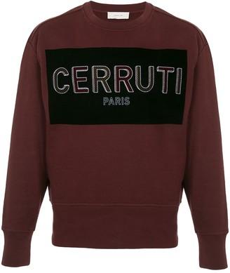 Cerruti Logo Print Sweater