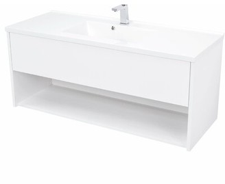 "Mcpeak 48"" Wall-Mounted Single Bathroom Vanity Set Orren Ellis"