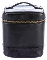 Chanel Lambskin Vanity Case