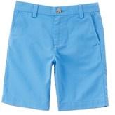 Vineyard Vines Boys' Blue Summer Twill Short.
