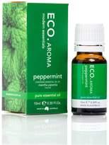 Eco Aroma Peppermint Essential Oil, (0.3 oz)