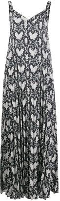 Love Moschino Snakeskin Print Dress