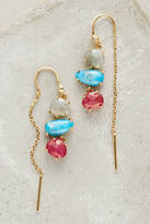 Anthropologie Ombre Breeze Threader Earrings