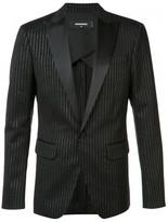 DSQUARED2 striped suit jacket