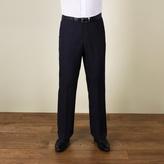 Karl Jackson Navy Plain Weave Regular Fit Trouser
